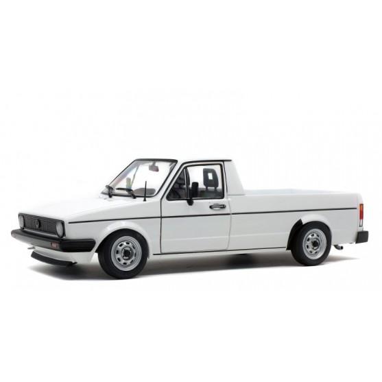 Volkswagen VW Caddy MK1 1982 white 1:18