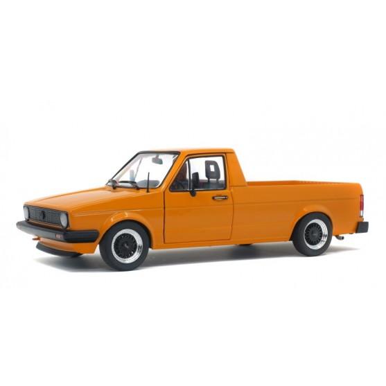 Volkswagen VW Caddy MK1 1982 orange 1:18
