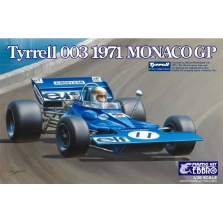 Tyrrel Ford 003 Monaco Gp 1971 Kit 1:20