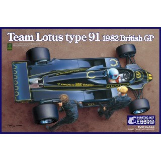 Lotus Ford Cosworth Type 91 1982 British GP Kit 1:20