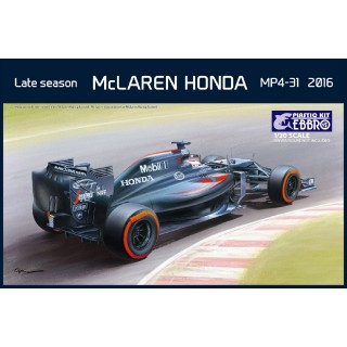 McLaren Honda MP4-31 2016 Late season Kit 1:20