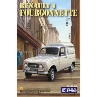 Renaul 4 Furgonette Kit 1:24