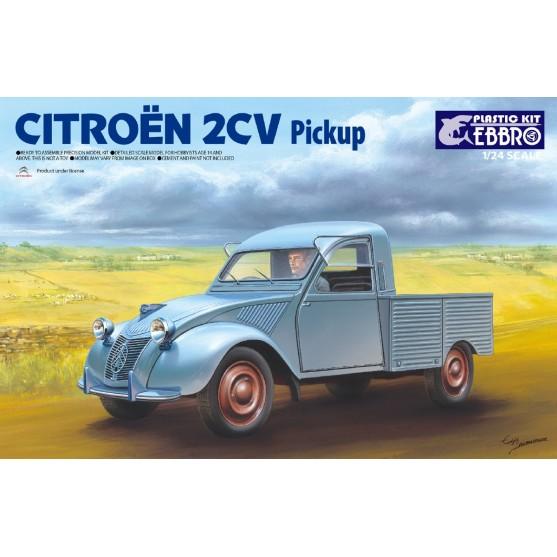 Citroen 2CV Pick Up Kit 1:24