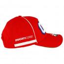 Ducati Corse Cappellino Baseball 04 Dovizioso Red