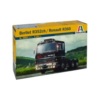 Berliet R352ch - Renault R360 Kit 1:24