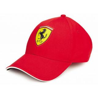 Ferrari Cappellino Baseball Logo Red