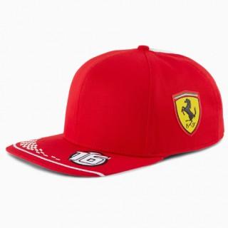 Scuderia Ferrari 2020 Cappellino Flat Puma Charles Leclerc