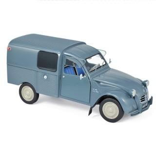 Citroën 2CV Fourgonnette AK350 1966 Névé Blue 1:18
