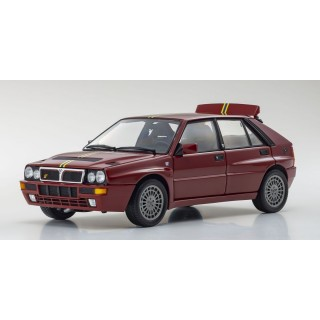 Lancia Delta HF Integrale EvoII 1992 Final Edition Bordeaux Red 1:18