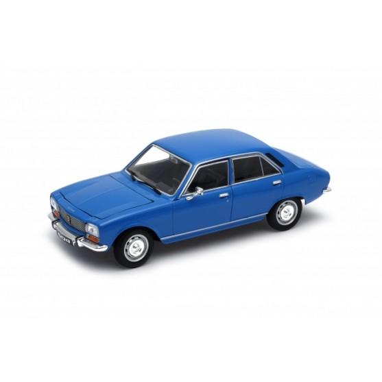 Peugeot 504 1975 Blu 1:24