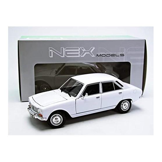 Peugeot 504 1975 White 1:24