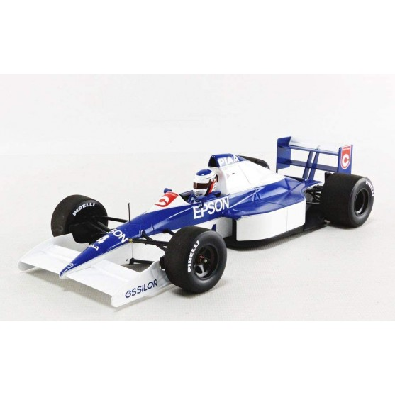 Tyrrell Ford 018 2nd Place 1990 USA GP 1:18