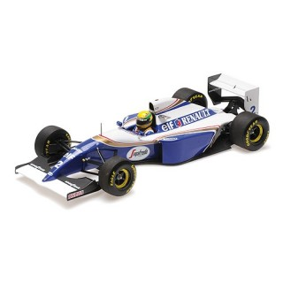 Williams Renault FW16 1994 San Marino GP Ayrton Senna 1:18