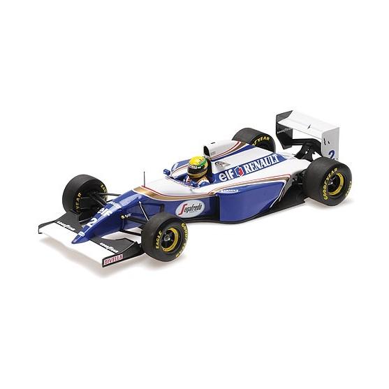 Williams Renault FW16 1994 San Marino GP Ayrton Senna 1:18