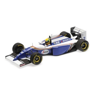 Williams Renault FW16 1994 Brazil Gp Ayrton Senna 1:18