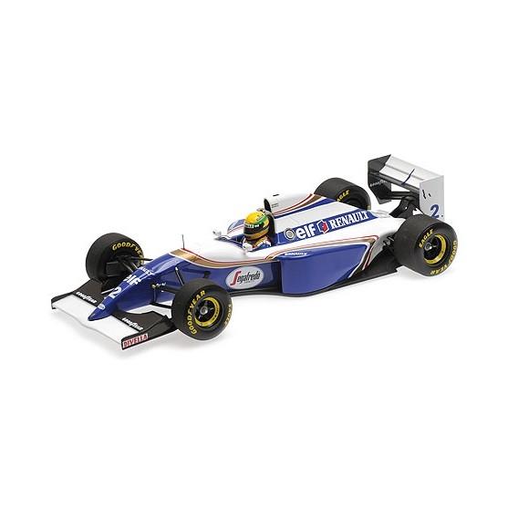 Williams Renault FW16 1994 Brazil Gp Ayrton Senna 1:18