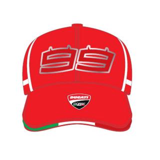 Ducati Corse Cappellino Baseball 99 Lorenzo Red