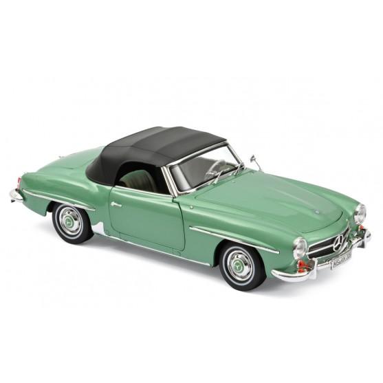 Mercedes-Benz 190 SL 1957 Light green metallic 1:18