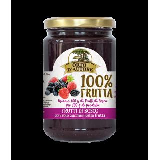Frutti di Bosco Confettura - Orto d'Autore 340 g