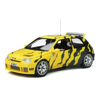 Renault Clio Maxi Presentation Car 1995 giallo - nero 1:18