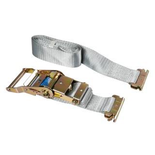 Nastro tensore con cricchetto Gancio per carichi interni 1,2+3 m