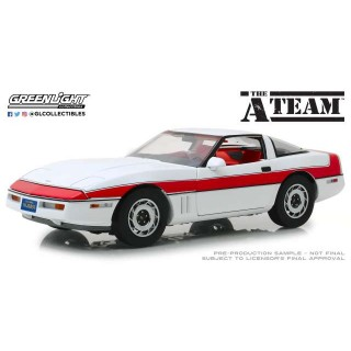 "Chevrolet Corvette C4 1984 ""The A-Team"" (1983-87 TV Series) 1:18"