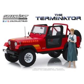 """Jeep CJ-7 Renegade Sarah Conner's """"The Terminator"""" 1:43"""