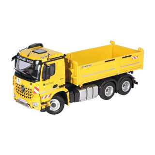 Mercedes-Benz Arocs  3343 Giallo 6x4 Ribaltabile 1:50