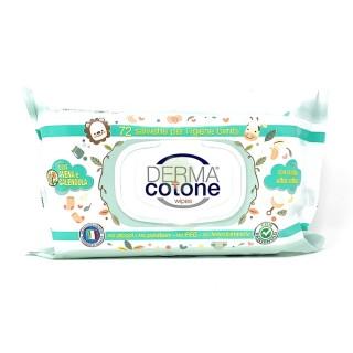 Salviettine Avena e Calendula Baby 72pz Derma Cotone
