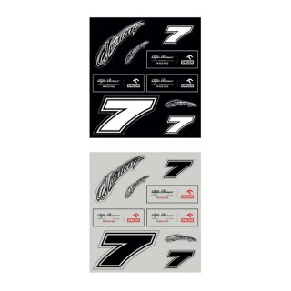 Alfa Romeo Racing Orlen F1 Set Stickers Raikkonen 2020