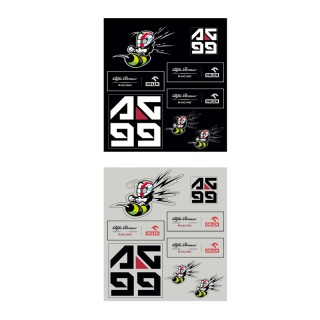 Alfa Romeo Racing Orlen F1 Set Stickers Giovinazzi 2020