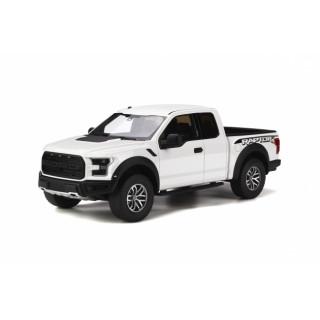 Ford F150 Raptor Oxford White 1:18