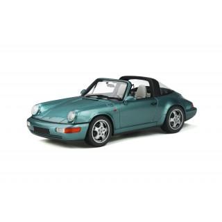 Porsche 911 (964) Carrera 4 Targa 1991 Turquoise Metallic 1:18