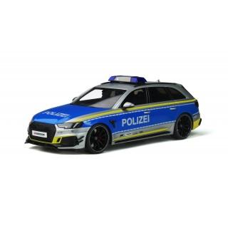 """Audi ABT RS 4-R Avant 2019 """"Polizei"""" 1:18"""