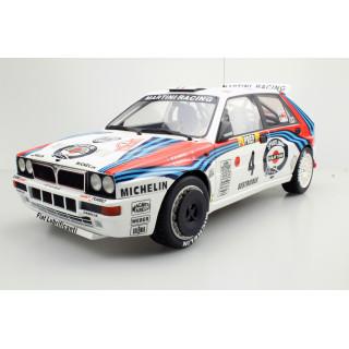 LANCIA DELTA HF INTEGRALE 16V Martini Winner Montecarlo 1992 Auriol/Occelli 1:12