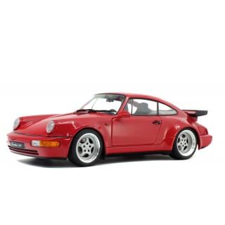 Porsche 911 3.6 Turbo 1990 Rouge Indien 1:18