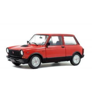 Autobianchi A112 Abarth 1980 Red 1:18