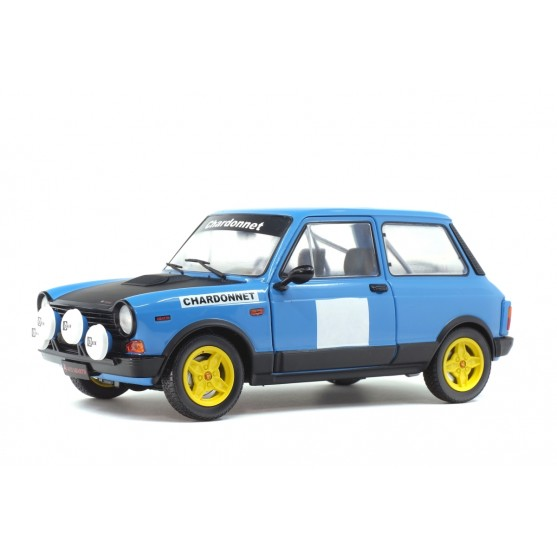 Autobianchi A112 Abarth 1980 Blue Rally Chardonnet 1:18
