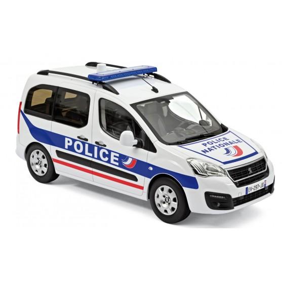 """Peugeot Partner 2017  """"Police Nationale"""" 1:18"""