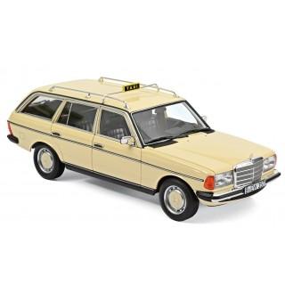 """Mercedes-Benz 200 T 1982 """"Taxi"""" 1:18"""