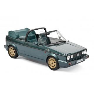 """Volkswagen Golf Cabriolet """"Etienne Aigner"""" 1990 Green metallic 1:18"""