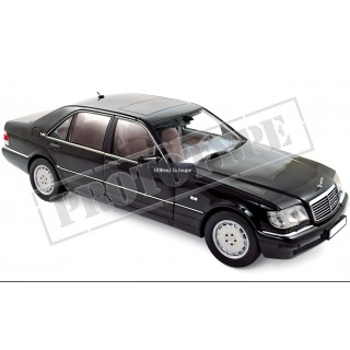 Mercedes-Benz S600 1997 Black 1:18