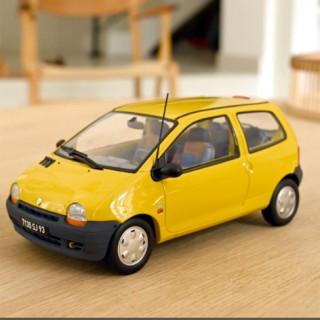 Renault Twingo  1995 Lemon Yellow United Deco 1:18