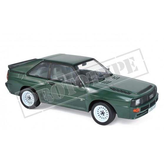 Audi Sport Quattro 1985 Green 1:18