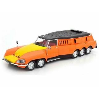 Citroen DS PLR Break Michelin Mille Pattes 1972 arancio / giallo / nero 1:18