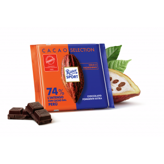 Ritter Sport Cacao Selection 74% Perù 100gr