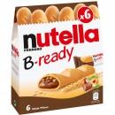 Nutella B-ready astuccio 6 pz 132g