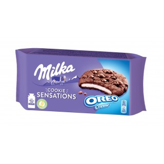 Milka Cookies Sensation Oreo Creme 156gr