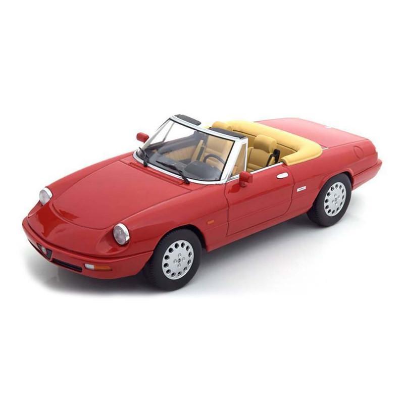 Alfa Romeo Spider 4.a Serie 1990 Rosso Alfa 1:18