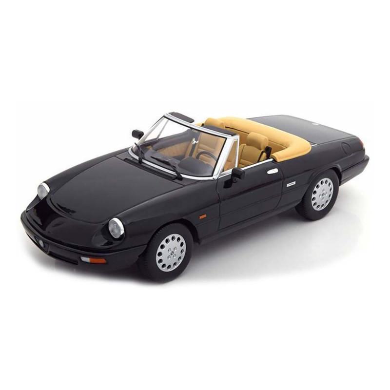 Alfa Romeo Spider 4.a Serie 1990 Nero 1:18